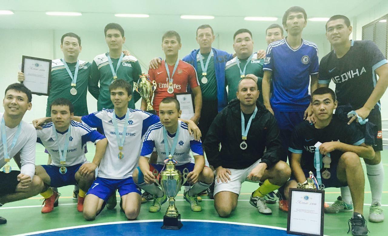 Турнир по мини-футболу в память Сулеймена Акдрашева – 2017