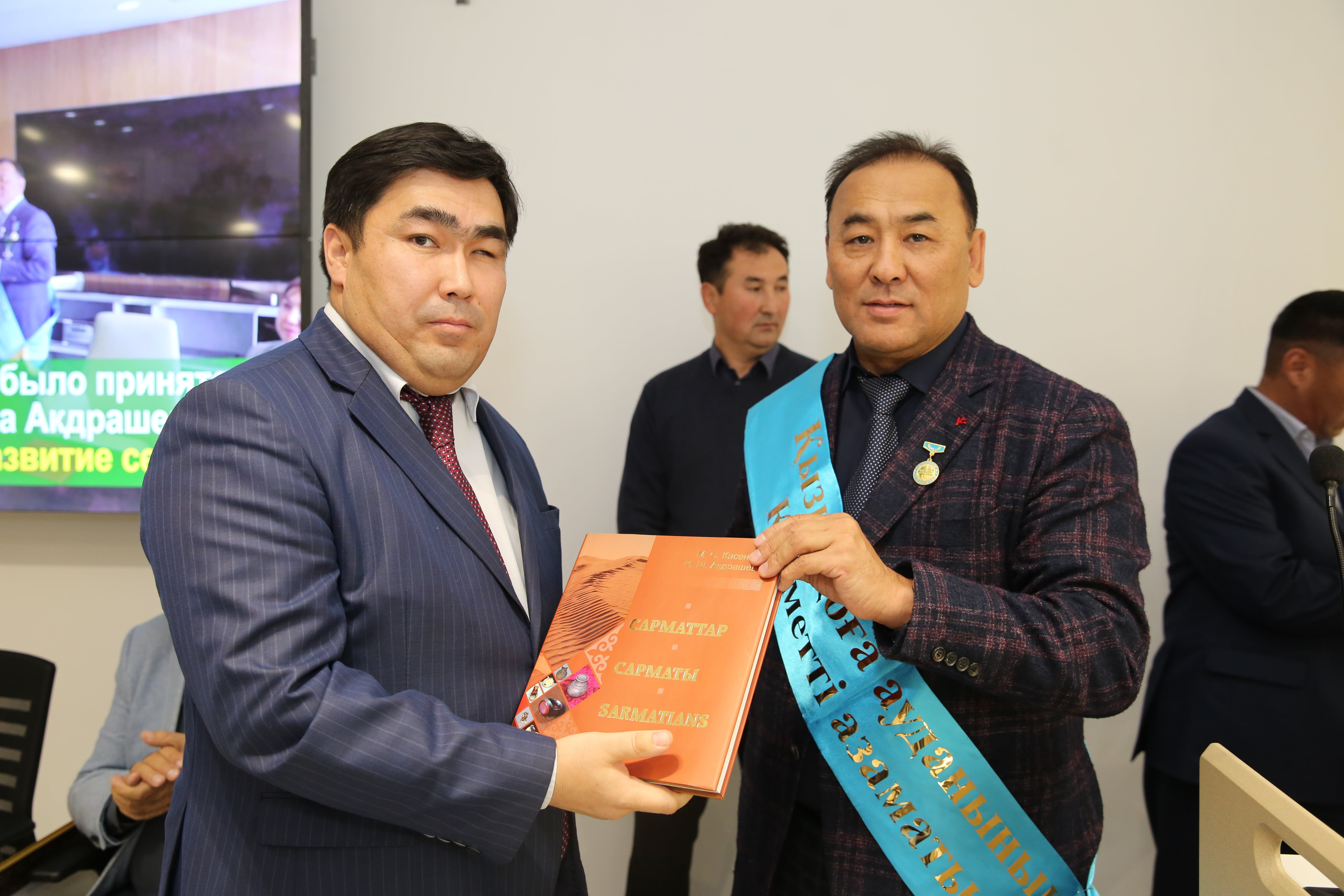 "General Manager of NSS Ibrahim Akdrashev was awarded the title ""Honorary Citizen of the Kyzylkoga District"""