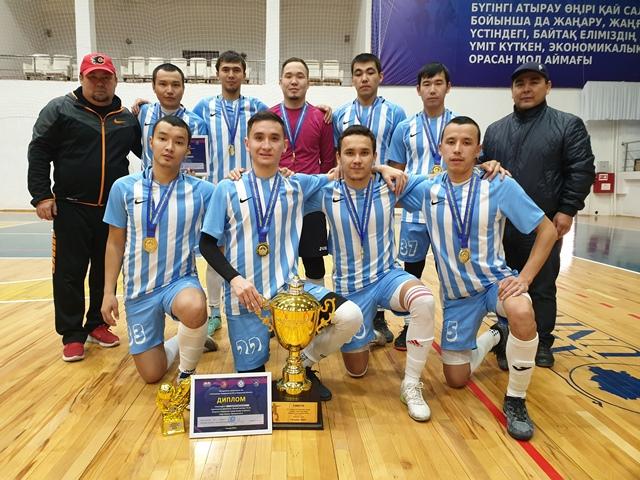 Главный трофей года у МФК «NSS»